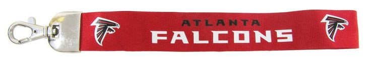"Atlanta Falcons 9"" Wristlet Lanyard"