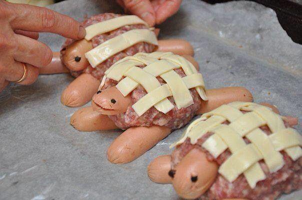 Turtle burgers