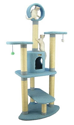 Play Cat Tower - got a similar one - would love one for every room!