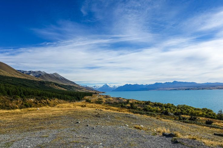 On the way to Mt Cook/Aoraki National Park, South Island