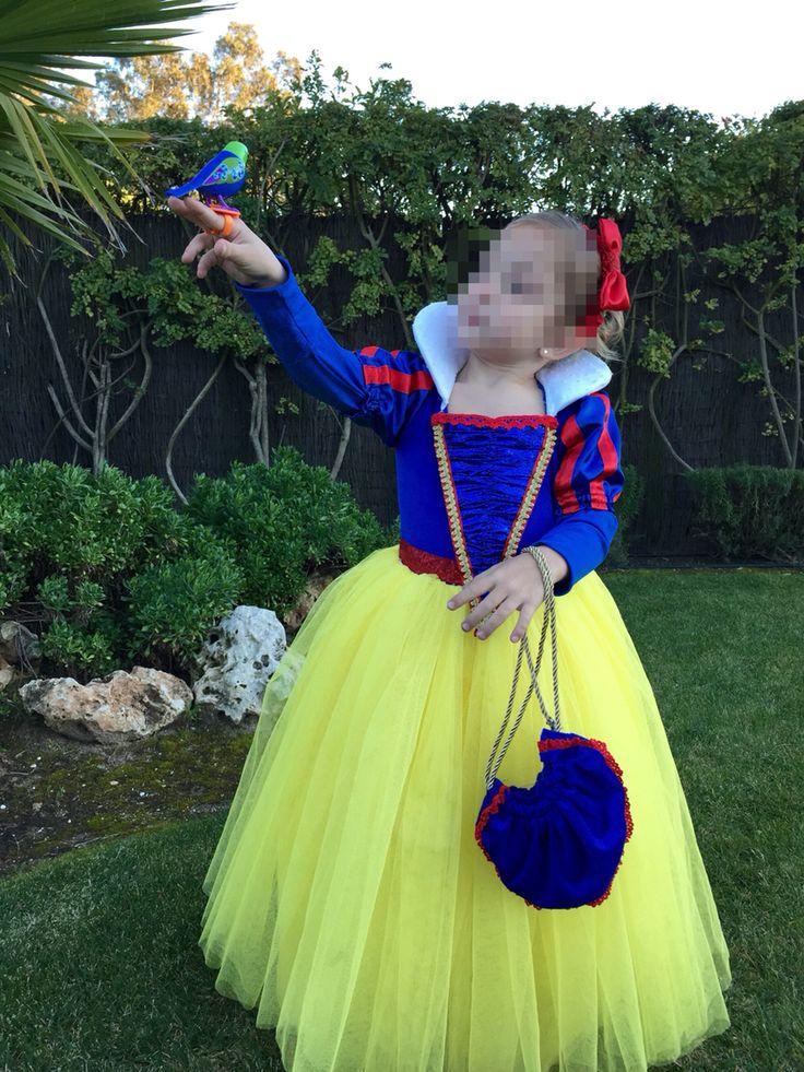 Disfraz Blancanieves niña                                                                                                                                                                                 Más