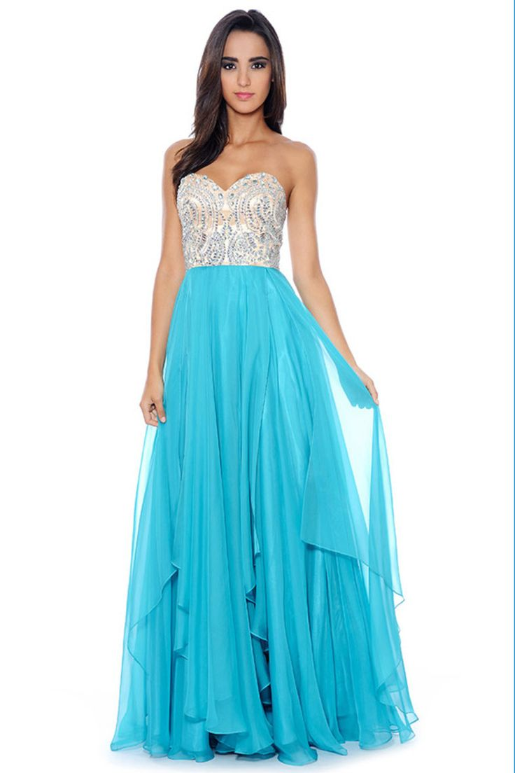 141 best PROM images on Pinterest | Evening gowns, Formal prom ...