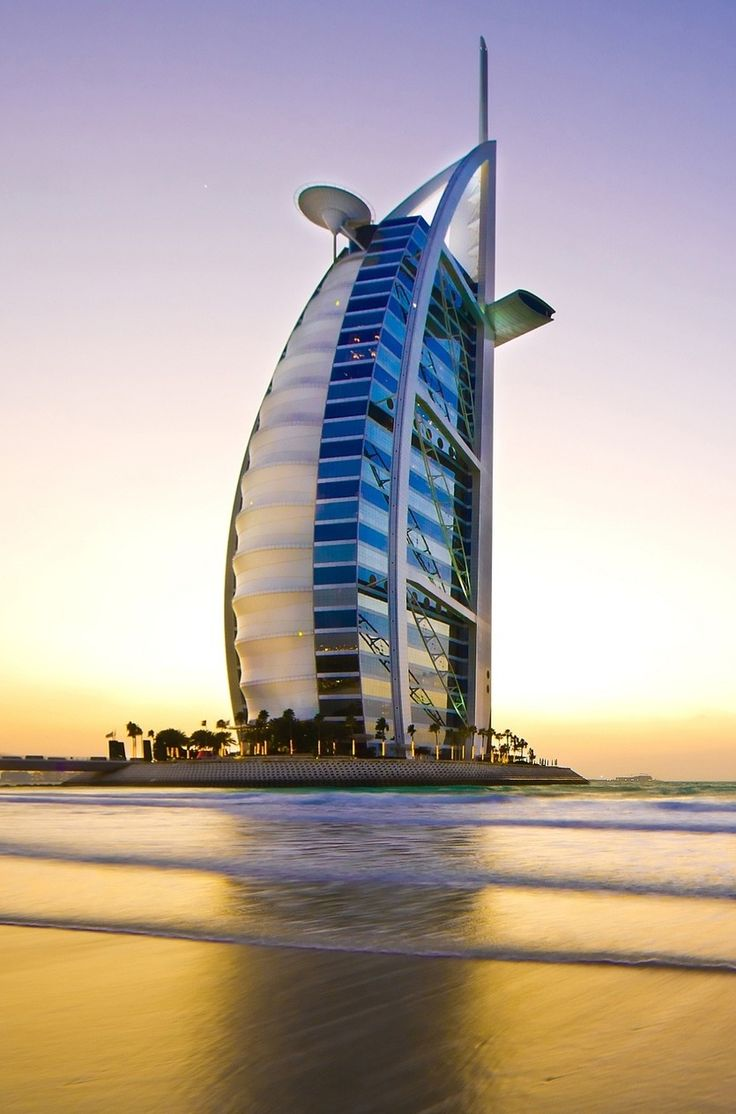 Shaped to resemble the sail of a ship, the Burj Al Arab Jumeirah is an iconic #luxury #hotel, instantly recognizable as the most luxurious hotel in the world. #Dubai