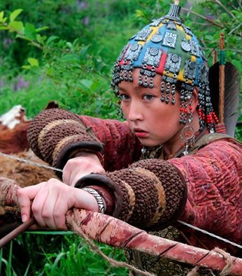 Kazak Türkü Kız..