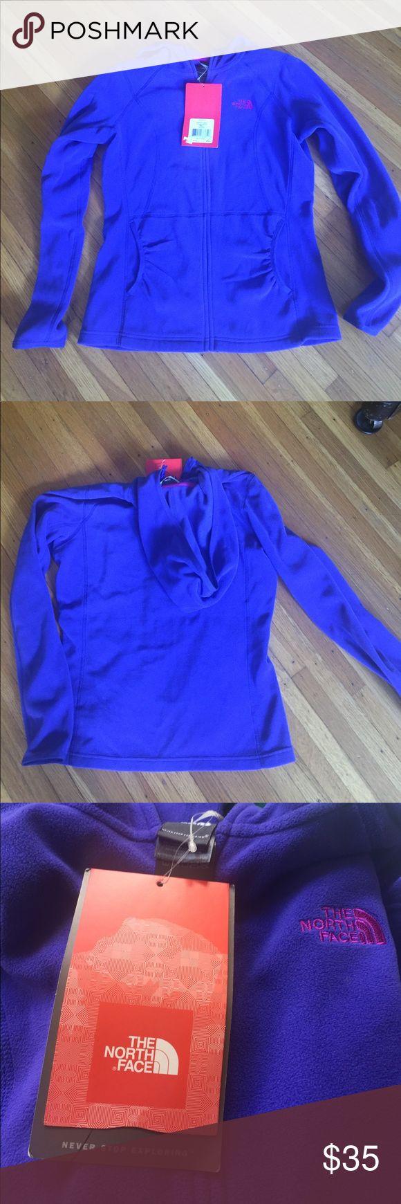 Small Purple North Face jacket W Masonic Hoodie, ultra marine blue, NWT North Face Jackets & Coats
