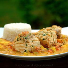 Encocado de pescado - Fish in coconut sauce