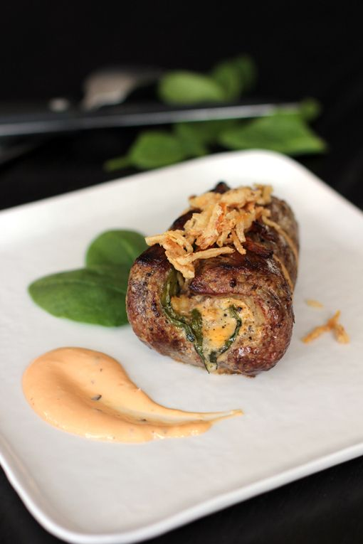 recipe onion blossom stuffed flank steak steak recipes chef recipes ...