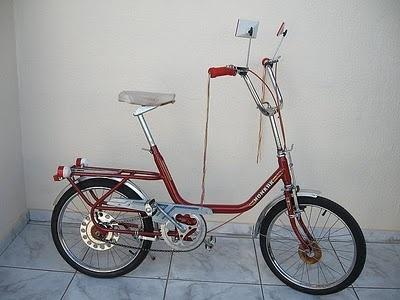 Minha primeira bicicleta foi uma Monareta da Monark...