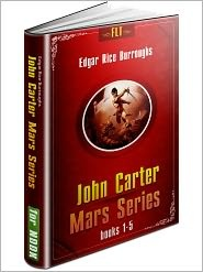 Edgar Rice Burroughs is sometimes better known as the guy who wrote the Tarzan books, but his Martian Chronicles series is excellent. And I think there's a John Carter (that's one of the main characters) movie coming out early next year!