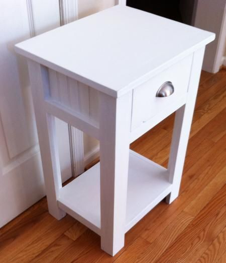 Night Stand Designs : Simple wood night stand plans woodworking projects