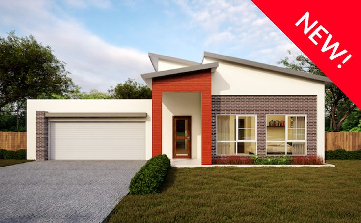 Aberdeen - Energy Efficient Home Facade - Green Homes Australia.