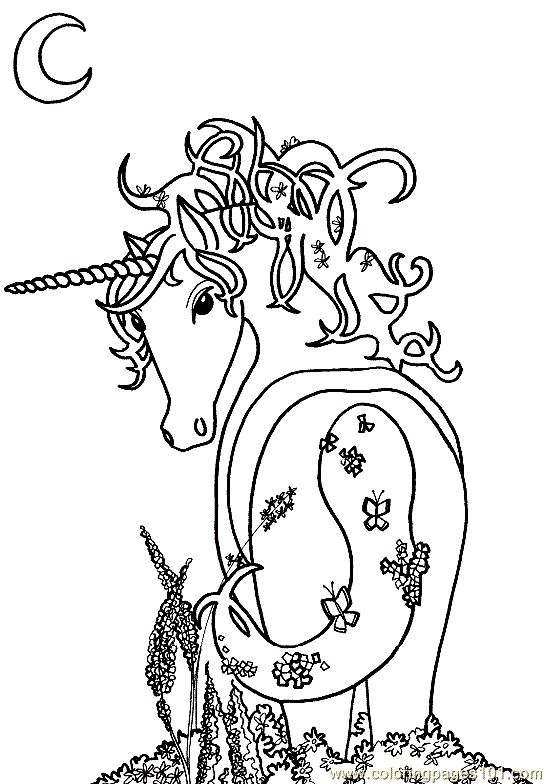 Free Printable Coloring Image Unicorn Page 15 Adult PagesColoring BooksFree