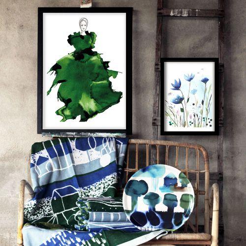 Art by Anette Carlsson Moberg  www.patternplan.se