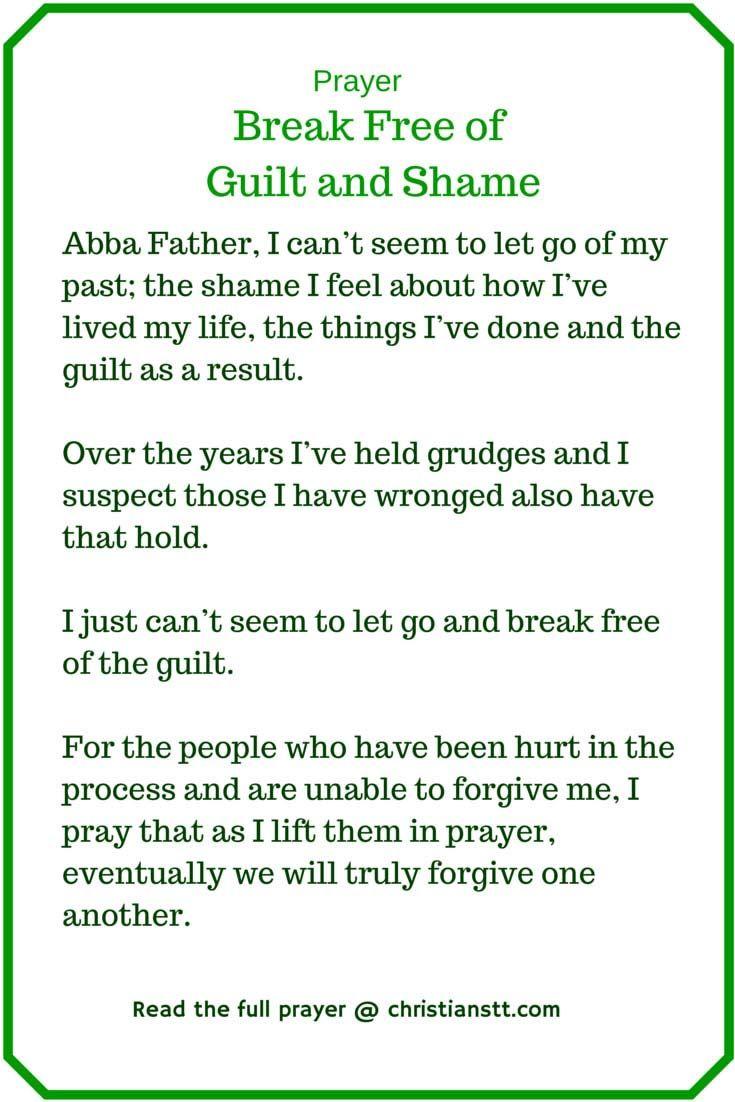 Prayer: Break Free of Guilt and Shame | DAILY PRAYER | Spiritual