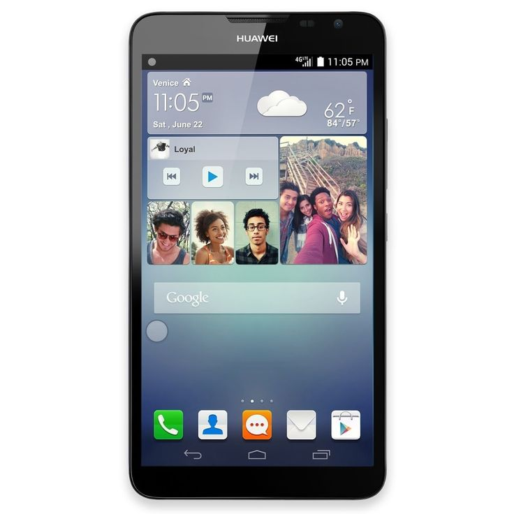 Huawei Ascend Mate 2 16GB Unlocked GSM 4G LTE Android Certified Refurbished Cell Phone #MT2-L03 CRB