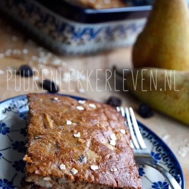 Koud he?! 😳❄️ Dit blijft dan toch echt mijn favoriete warme winter ontbijt. #taart #havermout mmmm 😊 #recept link in bio. #puurenlekkerleven #foodblogger
