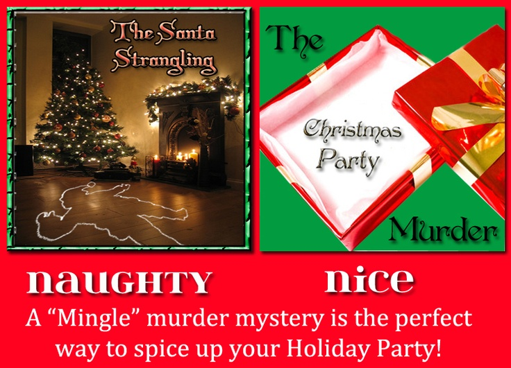 Christmas Murder Mystery Party