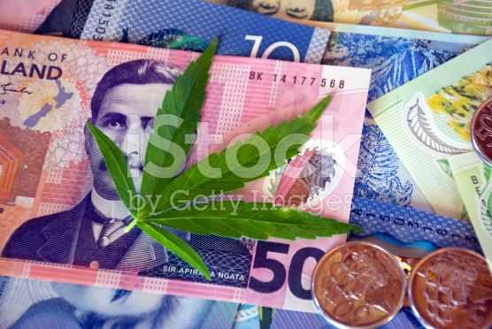 New Zealand Money (NZD); The Cost of Drugs royalty-free stock photo