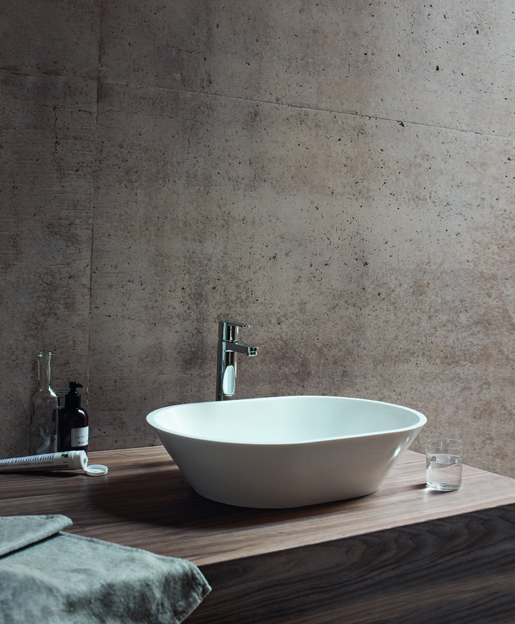 stone coloured bathroom accessories. Perfect choice for his and hers vanity basins  Sontuoso natural stone basin from Clearwater Baths 14 best Basins images on Pinterest Luxury bathrooms