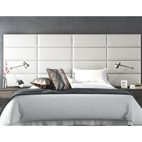 Beautiful Wall Mounted Upholstered Headboard
