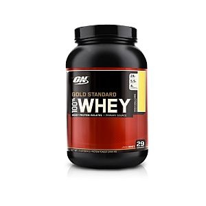Optimum Nutrition 100% Whey Gold Standard™ French Vanilla Creme - Good for Lactose Intolerance, looks like it's peanut/nut free.