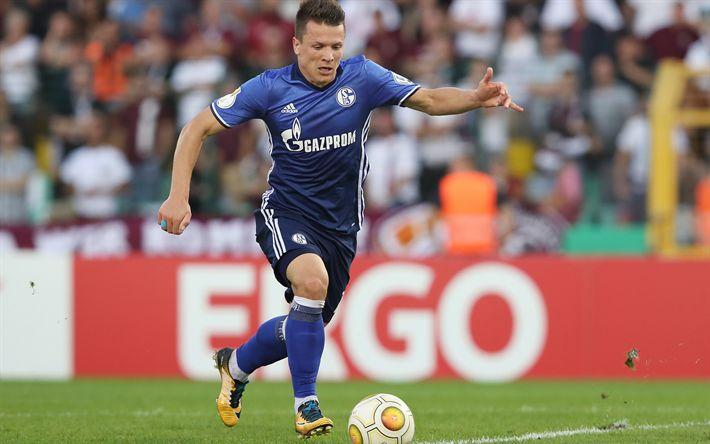 Download wallpapers Yevhen Konoplyanka, Ukrainian footballer, 4k, Schalke 04, Germany, Bundesliga, football, Gelsenkirchen