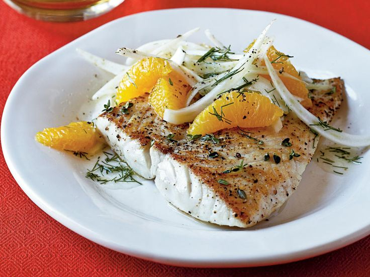 The salad brings bright, fresh Mediterranean flavors to this simple fish dish. A mandoline slices fennel evenly. View Recipe: Sautéed Snapper with Orange-Fennel Salad