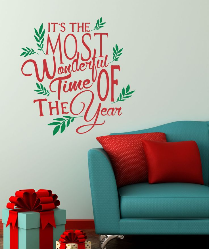 Preferred 13 best Christmas Vinyl Wall Decal images on Pinterest | Christmas  ZR84