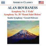 "Alan Hovhaness: Symphony No. 1 ""Exile""; Symphony No. 50 ""Mount Saint Helens"" [CD]"