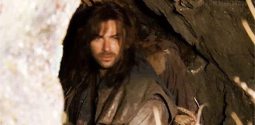 kili from the hobbit gif   The Hobbit: An Unexpected Journey Aidan turner. Hahahahahaha!