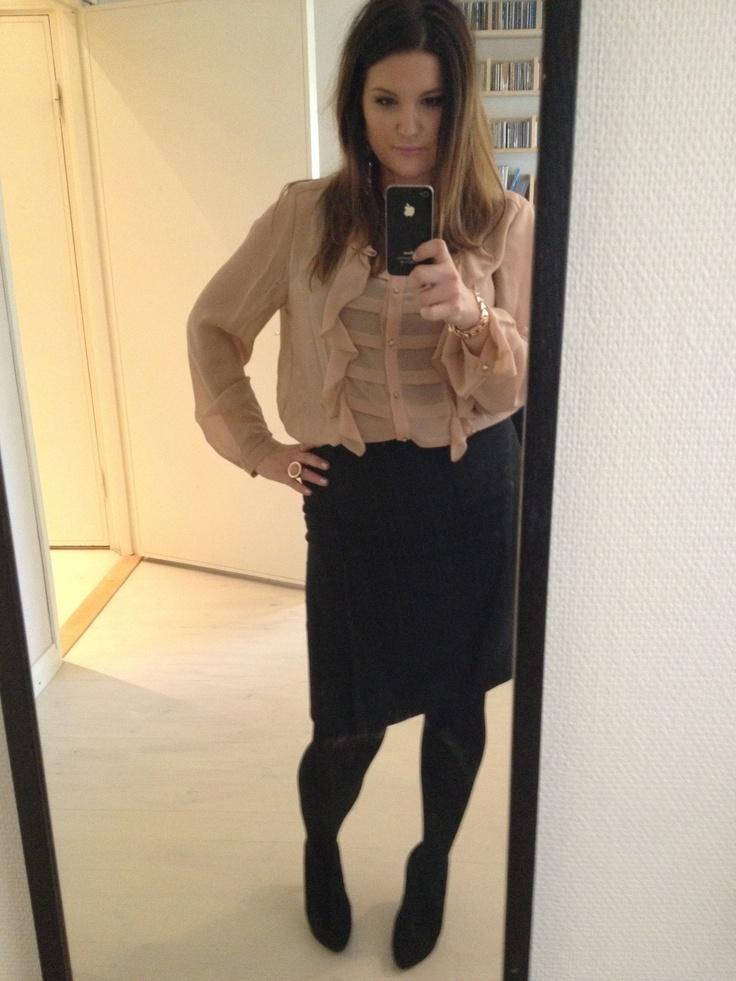 Kristiina Wheeler styled by Saija K