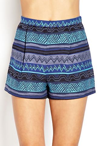 Voyager High-Waisted Pleated Shorts | FOREVER 21 - 2000070702
