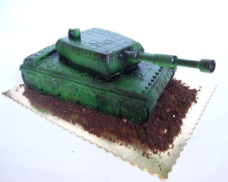 Torty Kraków Tort urodzinowy - Cukiernia Gataeu Tort czołg #cake, #tort, #urodziny, #czołg, #czolg, #cukiernia, #gateau, www.cukierniagateau.pl
