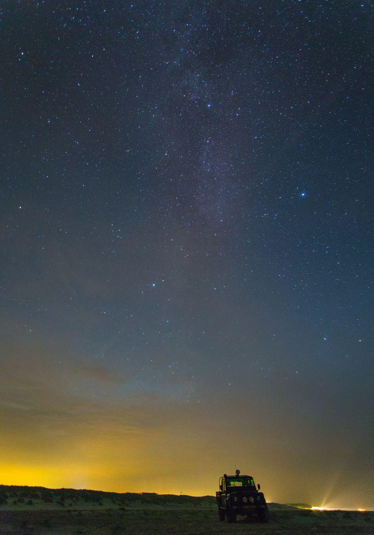 De boschplaat is het enigste Dark sky park van Nederland