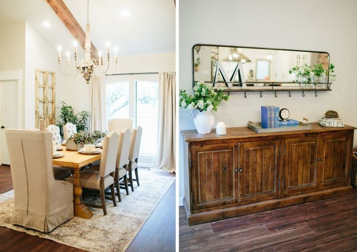 The House of Symmetry | Season 3 | Fixer Upper | Magnolia Market | Dining Room | Chip & Joanna Gaines | Waco, TX