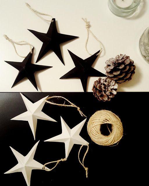 #decorazioninatalizie #stelle #stelle3d #fatteamano #ispirazioni #design #homedecor #stars #blackandwhite #handmade #diy #diychristmas #inspiration #christmastime #nordicstyle #unconventionalchristmas #designblogger #staytuned #followme