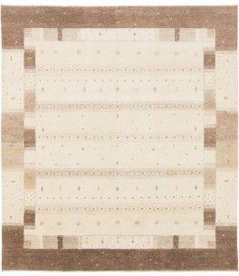Fesselnd Loribaft Gabbeh Teppich Dieser Schöne Loribaft Gabbeh Teppich 00012175  Stammt Aus Indien Und Hat Die Farbe Beige, Braun. Der Teppich Ist Aus  Hochwertigem ...
