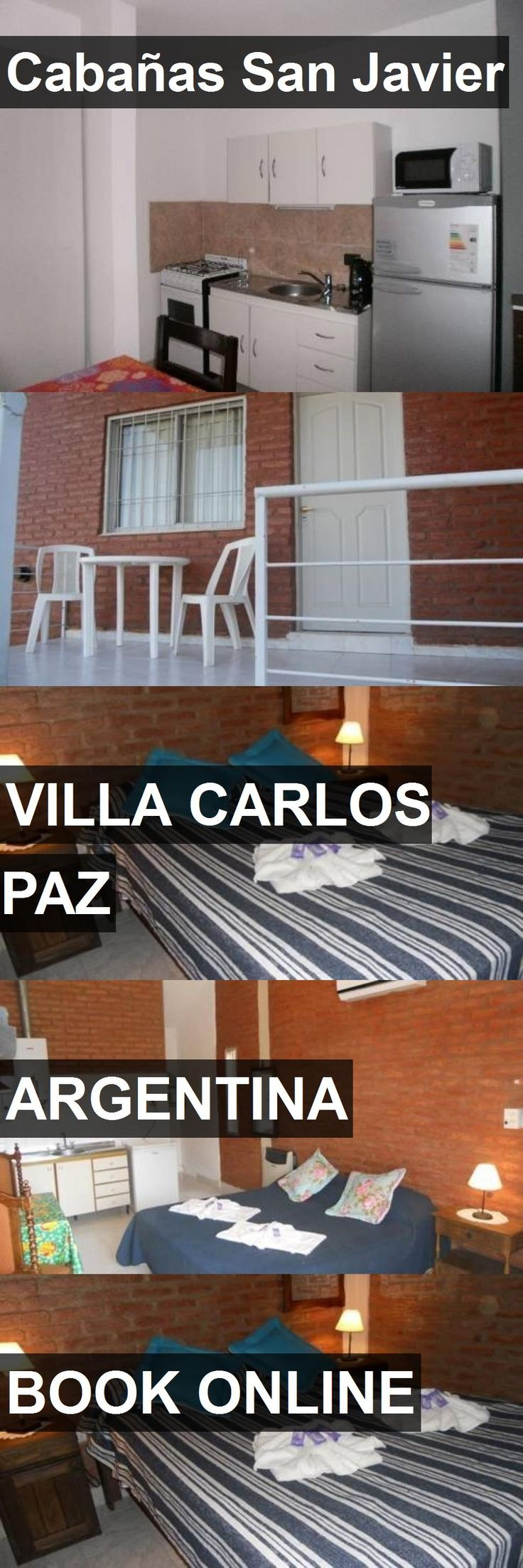 Hotel Cabañas San Javier in Villa Carlos Paz, Argentina. For more information, photos, reviews and best prices please follow the link. #Argentina #VillaCarlosPaz #CabañasSanJavier #hotel #travel #vacation