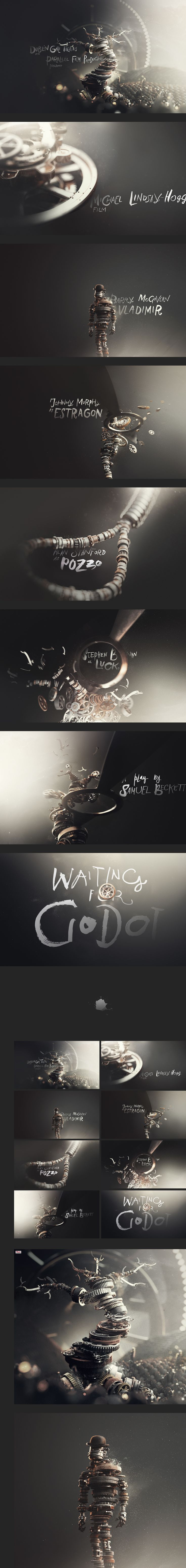 motion graphics/ storyboards/ styleframes | Waiting for Godot