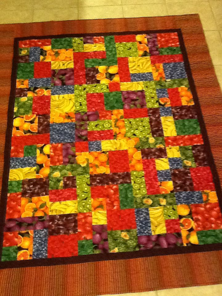 83 Best Images About Fruit And Veggie Quilts On Pinterest