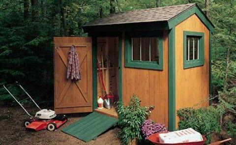 Popularmechanics.com Free Plans for 6x8 shed