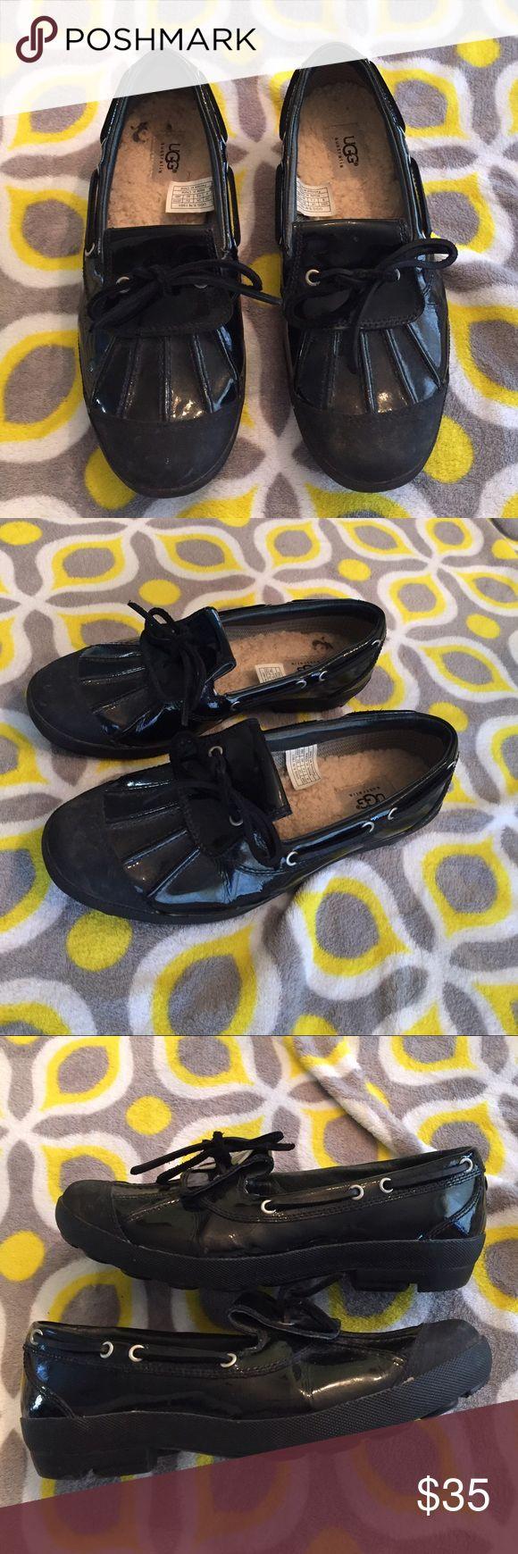 a5c989f9828 Ugg Ashdale Duck Shoe Black | Mindwise