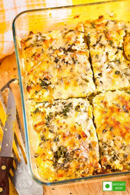 Картофель, запеченный с сыром и зеленью