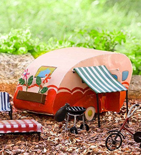 70 Best Images About Fairy Garden Trailers On Pinterest