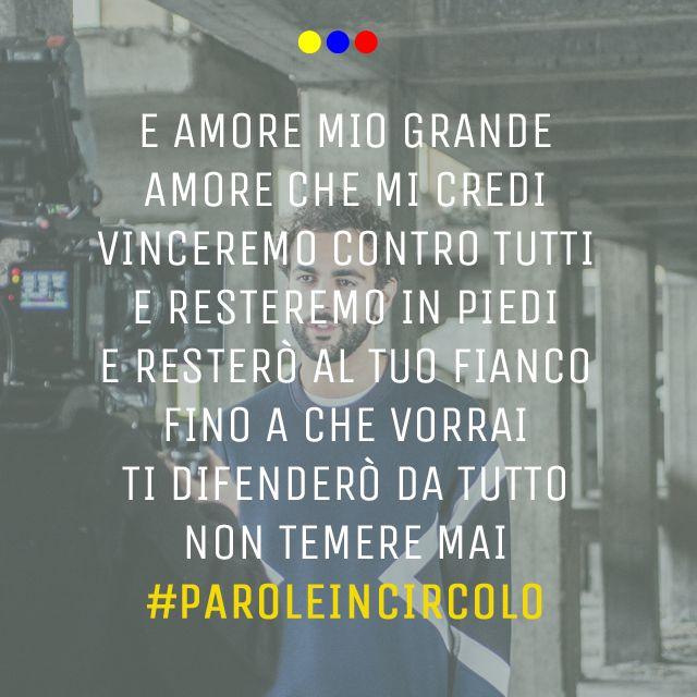 Marco Mengoni #Guerriero #paroleincircolo