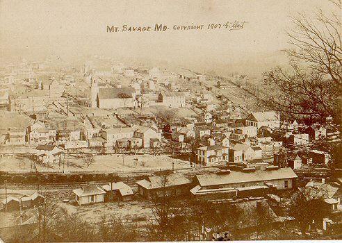 timber and coal mine  mt savage hisory | Mt Savage - 1907