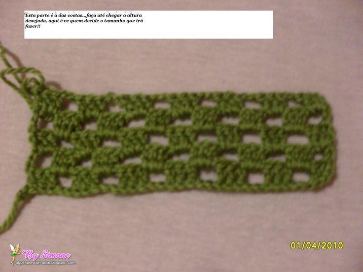 Mejores 44 imágenes de blusas en Pinterest | Blusas tejidas, Tops de ...