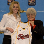 Katie Douglas, traded to the Indiana Fever in 2008
