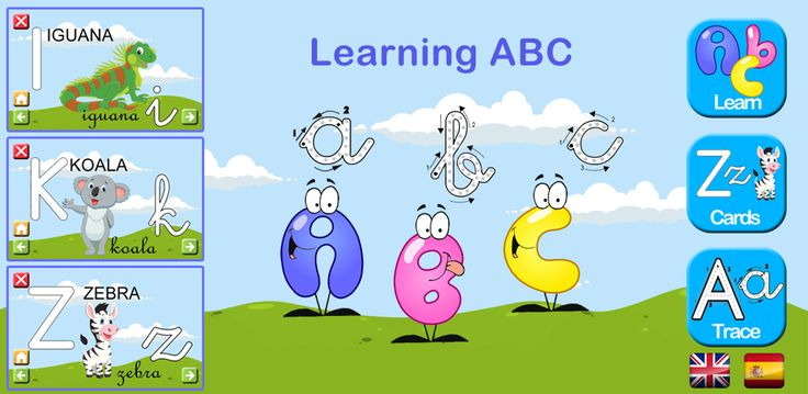 Learning ABC. 3 games in 1 http://bit.ly/1AhAkhZ