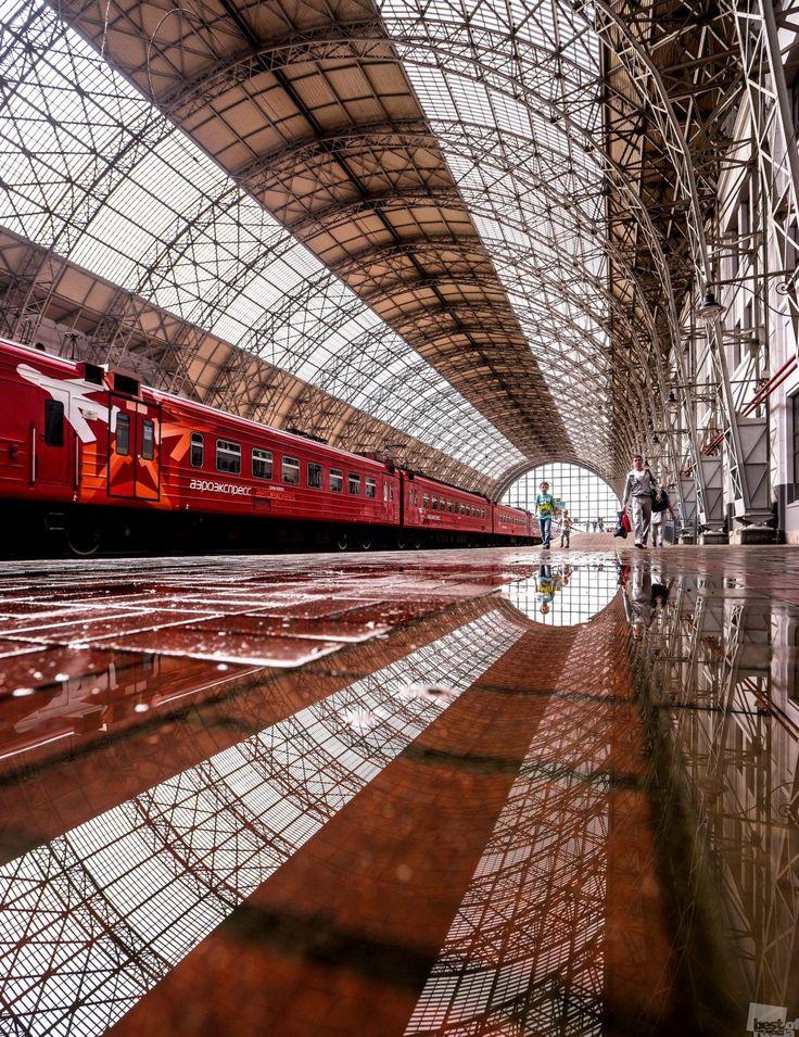 Киевский вокзал, Москва, Россия